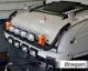 Roof Bar + LEDs + Jumbo LED Spots + Beacons For Mitsubishi Fuso Super Great BLACK - Type B